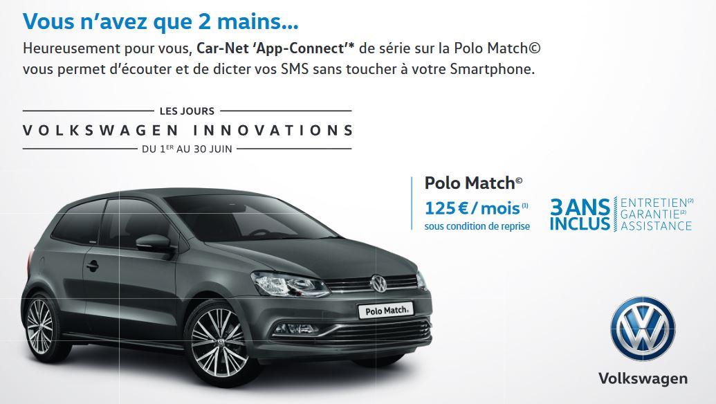 Polo Car Net App Connect