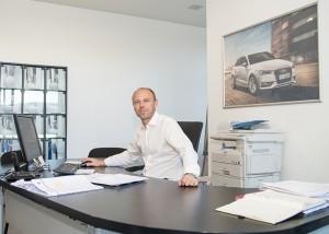 Laurent PERRIER directeur du site et responsable qualité
