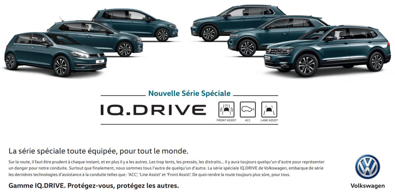 Nouvelle série spéciale IQ.DRIVE