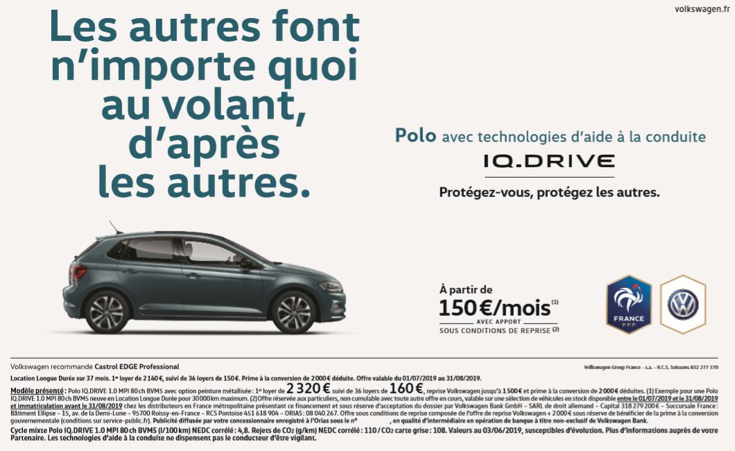 Polo IQ-drive avec aide à la conduite