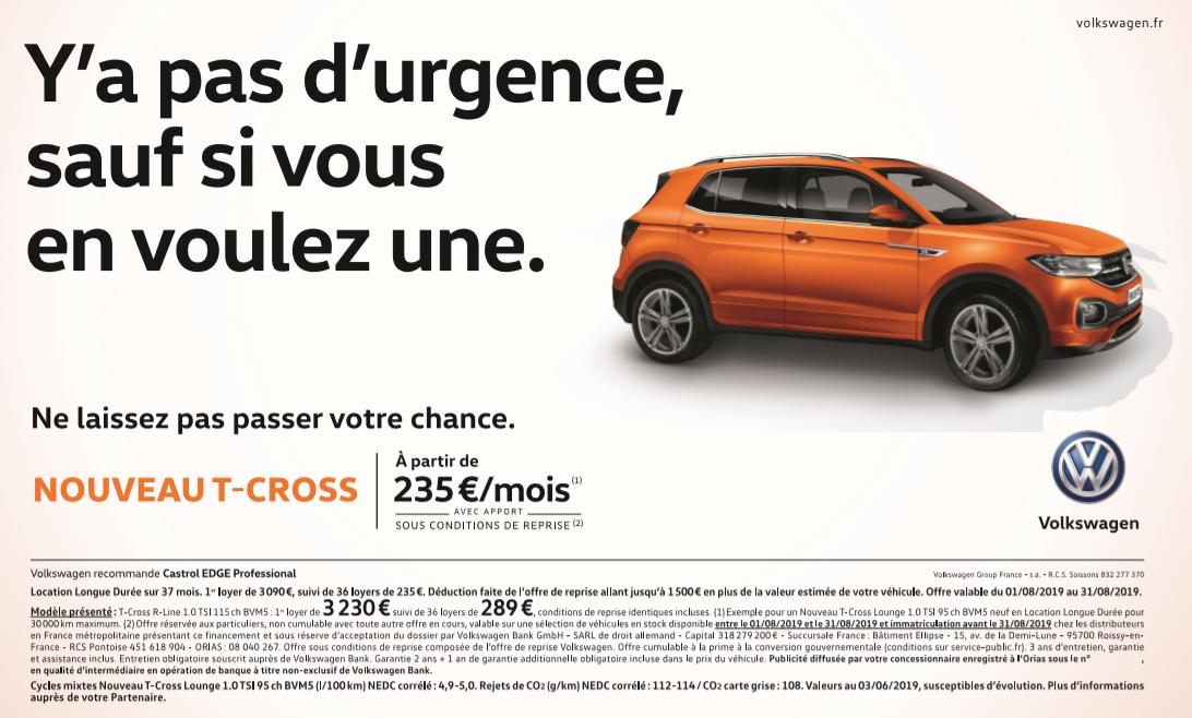 Nouveau T-Cross